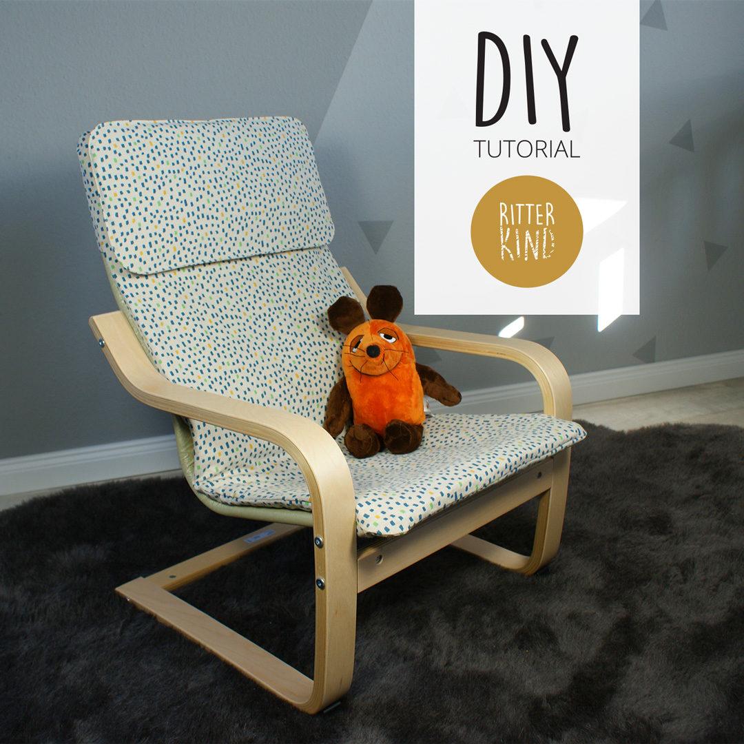 Ikea Poäng Bezug nähen - DIY Tutorial