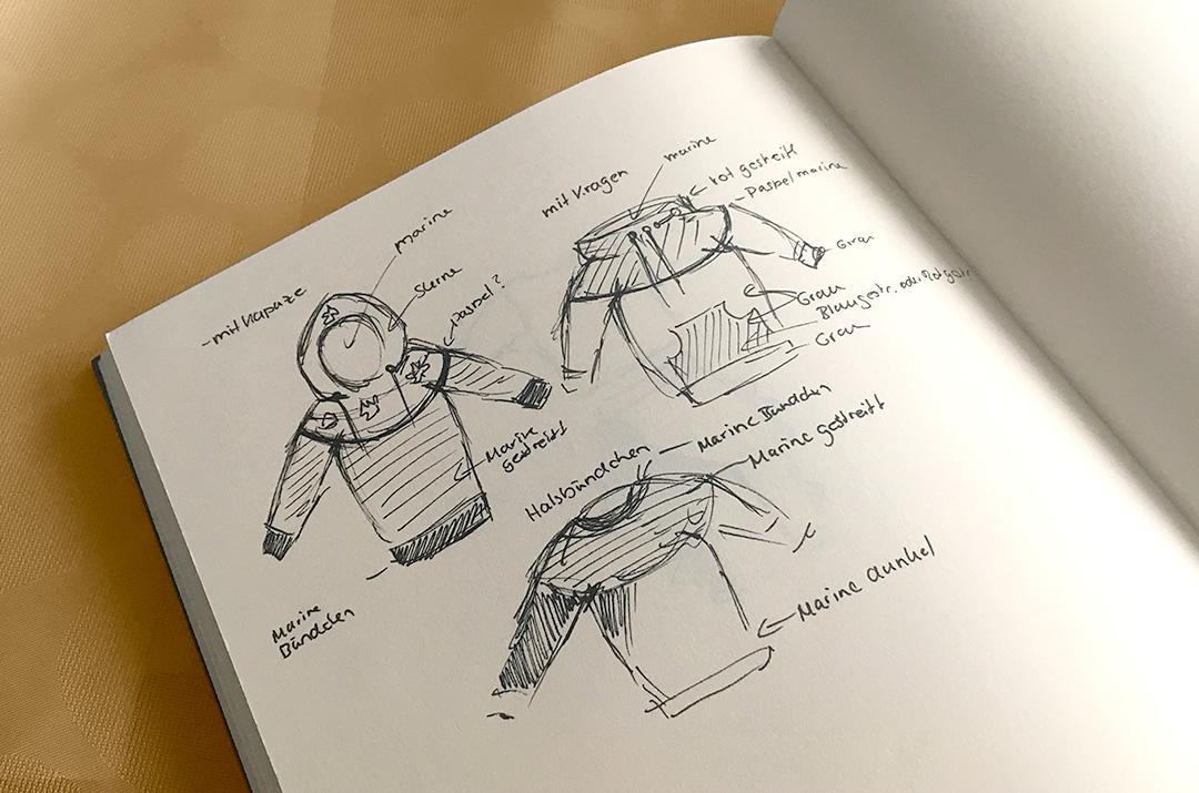 Krigelkragel » Ideenskizzen zum Schnittmuster Mini Mister