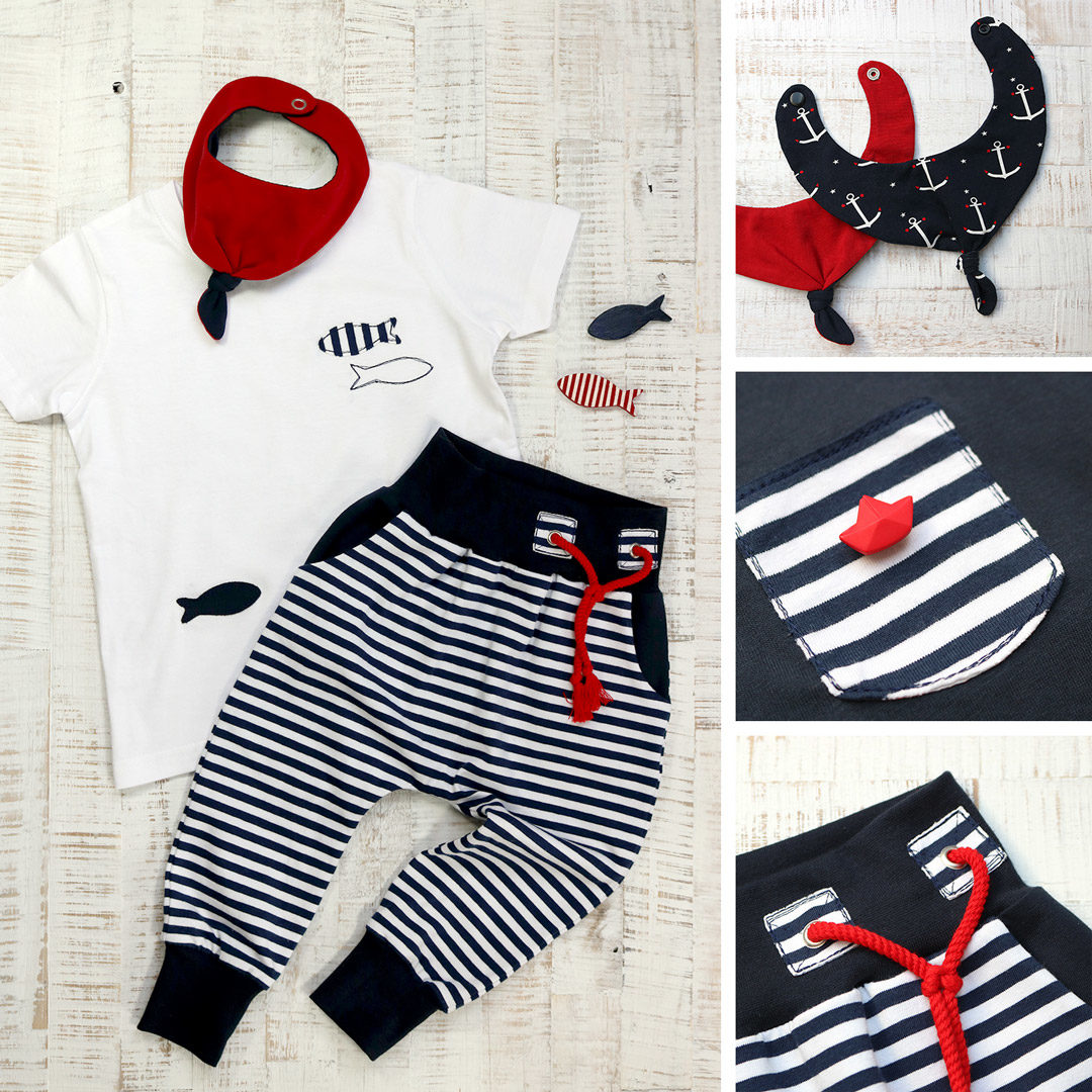 Maritimes Kinder Outfit