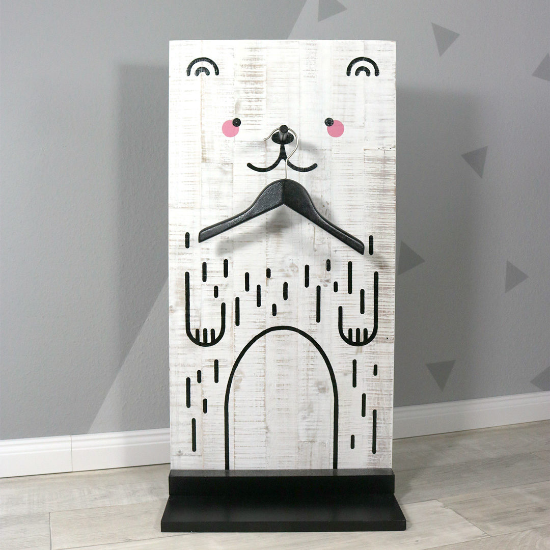 Garderobe für Kinder selber bauen