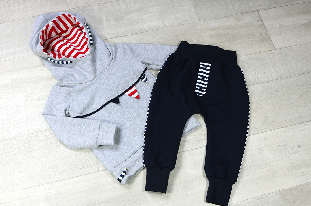 Kinder Outfit aus Mini Mister und Baggy-Pants-Baby