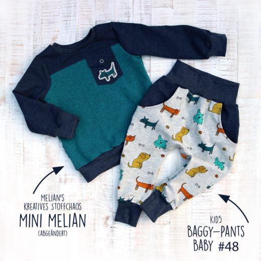 Baggy Pants Baby und Mini Mister (abgeändert) im Set