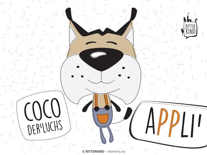 Applikationsvorlage COCO DER LUCHS